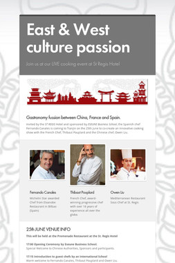 East & West culture passion