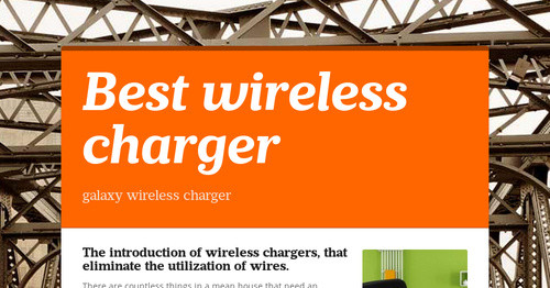 Wireless Charger 2015-6-11 16:10 Photo
