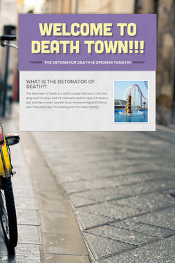 Welcome To Death Town!!!