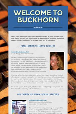 Welcome to Buckhorn