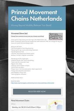 Primal Movement Chains Netherlands