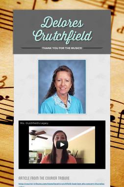 Delores Crutchfield