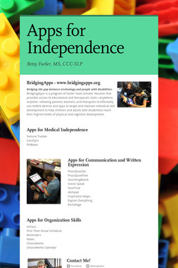 Apps for Independence