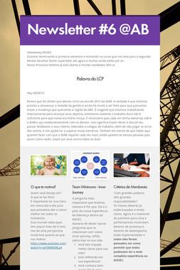 Newsletter #6 @AB