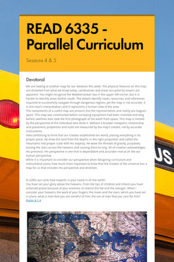 READ 6335 - Parallel Curriculum