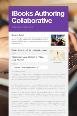 iBooks Authoring Collaborative