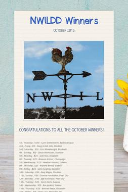 NWILDD Winners