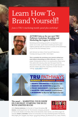 Learn How To Brand Yourself!