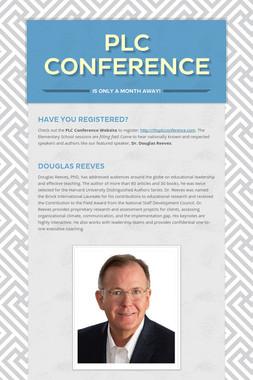 PLC Conference