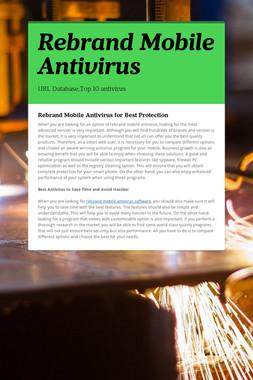 Rebrand Mobile Antivirus