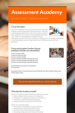 Assessment Academy