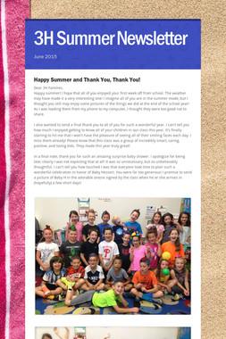 3H Summer Newsletter