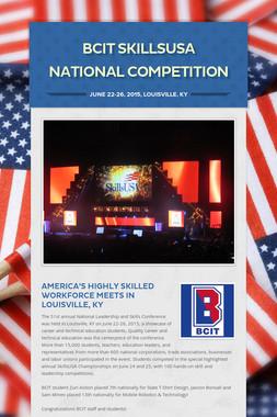 BCIT SkillsUSA National Competition