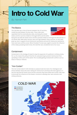Intro to Cold War