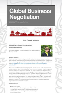 Global Business Negotiation