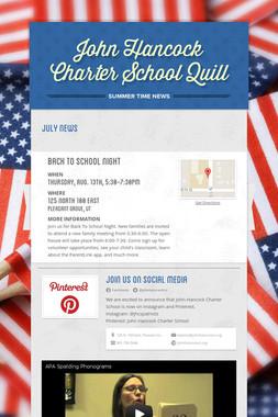 John Hancock Charter School Quill