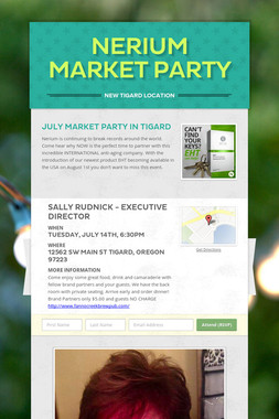 Nerium Market Party