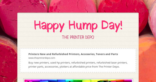 Happy Hump Day!   Smore Newsletters