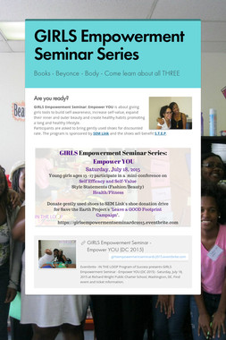 GIRLS Empowerment Seminar Series