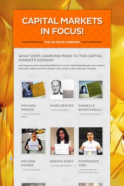 Capital Markets in Focus!