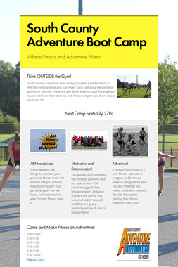 South County Adventure Boot Camp