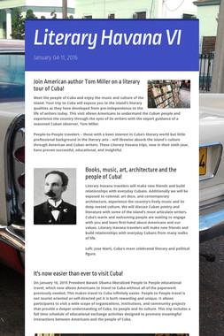 Literary Havana VI