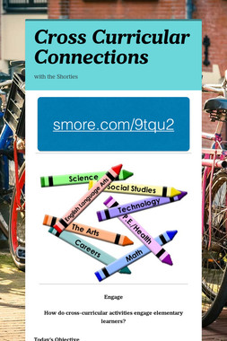 Cross Curricular Connections