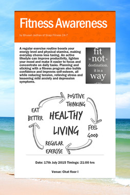 Fitness Awareness