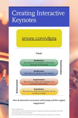 Creating Interactive Keynotes