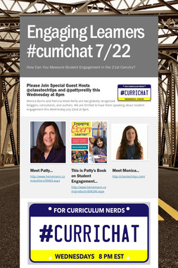Engaging Learners #currichat 7/22
