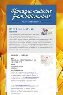 Kamagra medicine from Pillenpalast