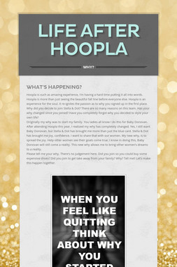 Life After Hoopla