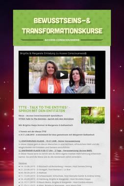 Bewusstseins-& Transformationskurse