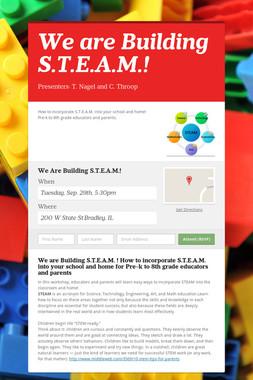 We are Building S.T.E.A.M.!