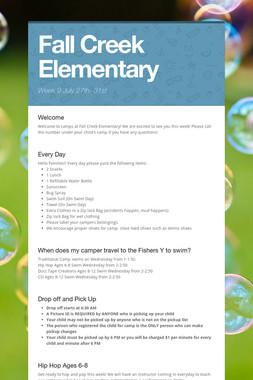 Fall Creek Elementary
