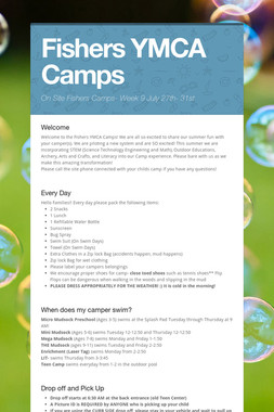 Fishers YMCA Camps