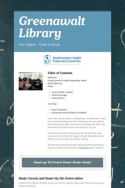 Greenawalt Library
