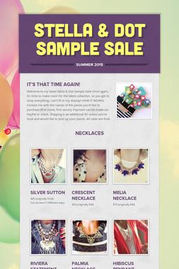 Stella & Dot Sample Sale