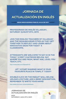 Jornada de Actualización en Inglés