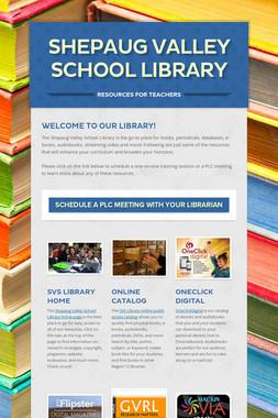 Shepaug Valley School Library