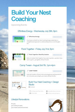Build Your Nest Coaching