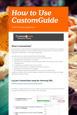 How to Use CustomGuide