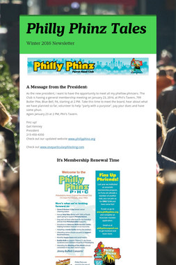 Philly Phinz Tales