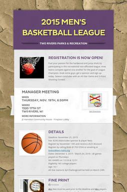 2015 Men's Basketball League