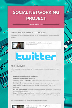 Social Networking Project