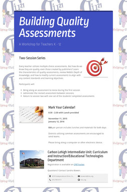 Building Quality Assessments
