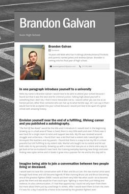 Brandon Galvan