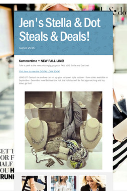 Jen's Stella & Dot Steals & Deals!