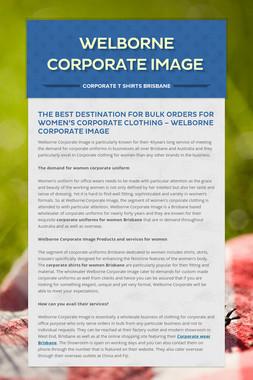 Welborne Corporate Image
