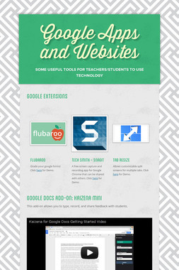 Google Apps and Websites